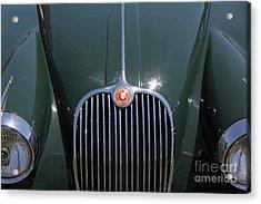 1959 Jaguar Xk150 Dhc 5d23301 Acrylic Print by Wingsdomain Art and Photography