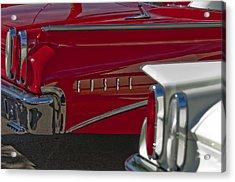 1960 Edsel Taillight Acrylic Print by Jill Reger