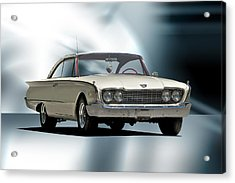 1960 Ford Starliner Acrylic Print by Dave Koontz