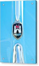 1960 Volkswagen Vw Hood Emblem 2 Acrylic Print by Jill Reger