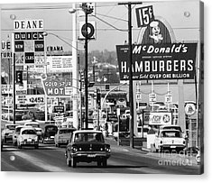 1960s Denver Scene Acrylic Print by Myron Wood