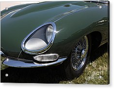 1961 Jaguar Xke Roadster 5d23321 Acrylic Print by Wingsdomain Art and Photography