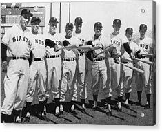 1961 San Francisco Giants Acrylic Print by Underwood Archives