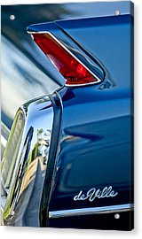 1962 Cadillac Deville Taillight Acrylic Print by Jill Reger