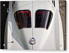 1963 Chevrolet Corvette Split Window -399c Acrylic Print by Jill Reger