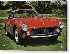 1963 Ferrari 250 Gt Lusso Acrylic Print by Sebastian Musial