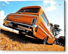 1964 Chevrolet Biscayne Acrylic Print by motography aka Phil Clark