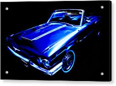 1964 Thunderbird Acrylic Print by Phil 'motography' Clark