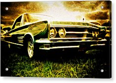 1966 Chrysler 300 Acrylic Print by Phil 'motography' Clark