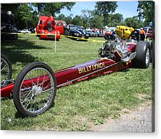 1967 Billy Lynch's Top Fuel Dragster Acrylic Print by John Telfer
