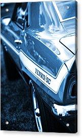 1969 Chevrolet Camaro Yenko Sc 427 Acrylic Print by Gordon Dean II