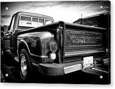 1969 Chevrolet Pickup IIi Acrylic Print by David Patterson
