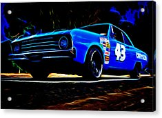 1970 Chrysler Valiant Acrylic Print by Phil 'motography' Clark