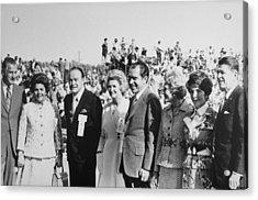 1971 Nixon Campaign Event Acrylic Print by Everett