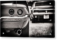 1972 Camaro Acrylic Print by Tim Gainey