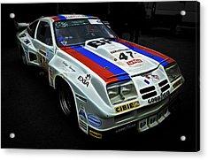 1976 Chevrolet Monza Imsa Acrylic Print by Phil 'motography' Clark