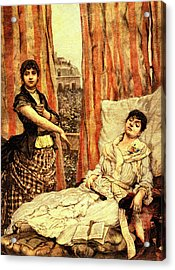 19th Century Morphine Addicts Acrylic Print by Collection Abecasis