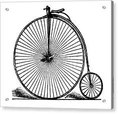 19th Century Penny-farthing Acrylic Print by Bildagentur-online/tschanz