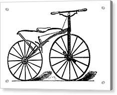 19th Century Velocipede Acrylic Print by Bildagentur-online/tschanz