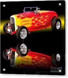 1932 Ford V8 Hotrod Acrylic Print by Jim Carrell