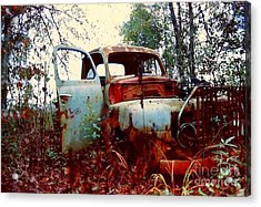 Abandoned  Journey  Acrylic Print by Michael Hoard