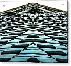 Abstract Buildings 1 Acrylic Print by J D Owen
