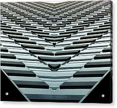 Abstract Buildings 7 Acrylic Print by J D Owen
