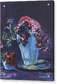 Admire Acrylic Print by Helena Bebirian