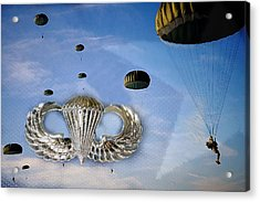 Airborne Acrylic Print by JC Findley