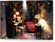Al Capone's Cell Acrylic Print by John Rizzuto