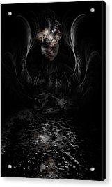 Andromeda Acrylic Print by David Fox