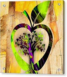 Apple Tree Acrylic Print by Marvin Blaine