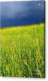 Approaching Storm Acrylic Print by Thomas R Fletcher
