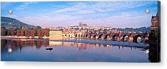 Arch Bridge Across A River, Charles Acrylic Print by Panoramic Images