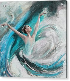 Ballerina  Acrylic Print by Corporate Art Task Force