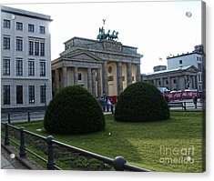 Berlin - Brandenburg Gate Acrylic Print by Gregory Dyer