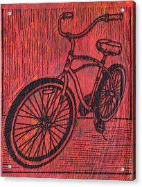 Bike 6 Acrylic Print by William Cauthern