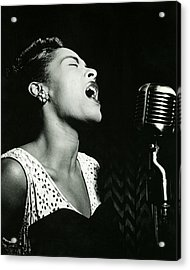 Billie Holiday Acrylic Print by Retro Images Archive