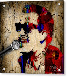 Billy Joel Collection Acrylic Print by Marvin Blaine