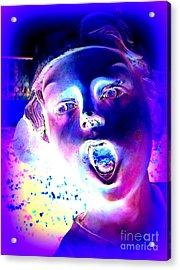 Blue Boy Acrylic Print by Ed Weidman