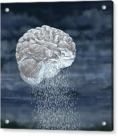 Brainstorm Acrylic Print by Russell Kightley