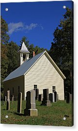 Cades Cove Primitive Baptist Church Acrylic Print by Dan Sproul