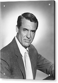 Cary Grant Acrylic Print by Silver Screen