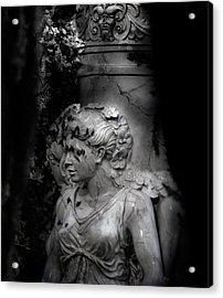 Chastity Acrylic Print by David Fox