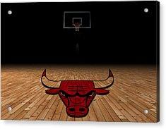 Chicago Bulls Acrylic Print by Joe Hamilton