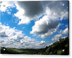 Clouds Acrylic Print by Optical Playground By MP Ray