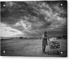 Cloudy Now Acrylic Print by Taylan Soyturk