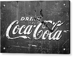 Coca-cola Sign Acrylic Print by Jill Reger