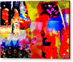 Colorful Acrylic Print by Kelly McManus