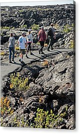 Craters Of The Moon Walking Tour Acrylic Print by Jim West